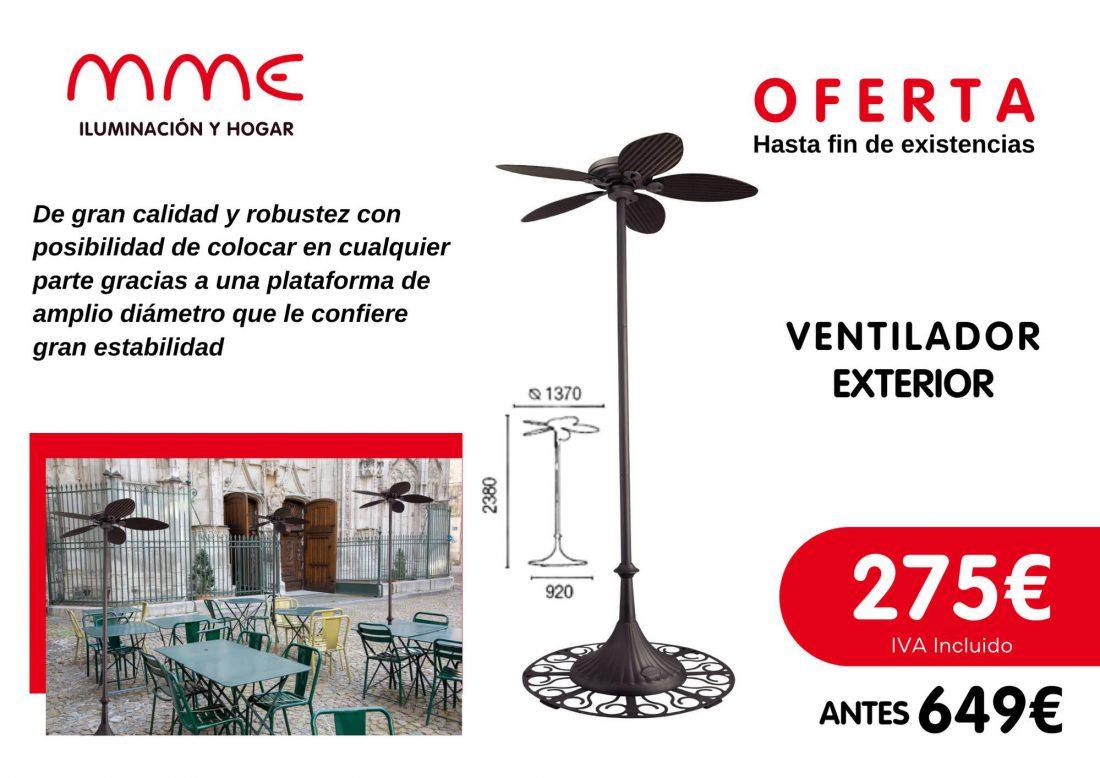 iluminacion y hogar para hosteleria ventilador de exterior