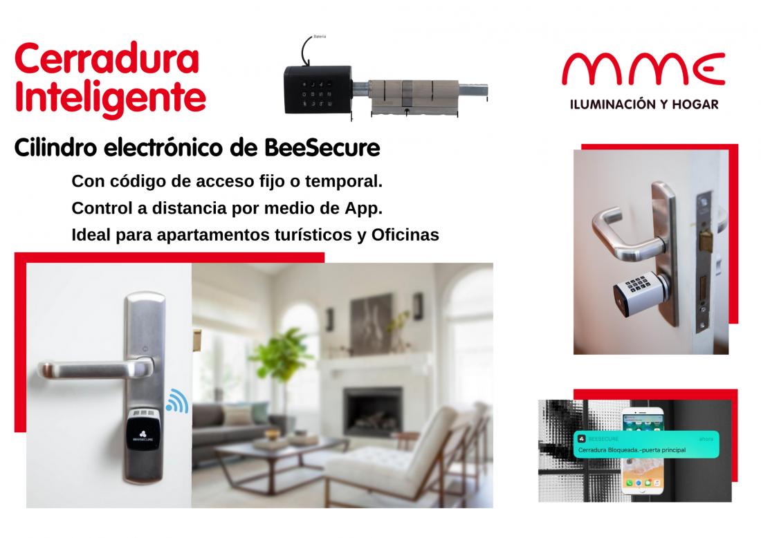 Cerradura-Inteligente-cilindro-electronico-beesecure-san-pedro-de-pinatar-mme-iluminacion-y-hogar